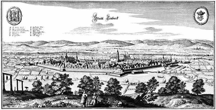 Einbeck, città natale di Sieber