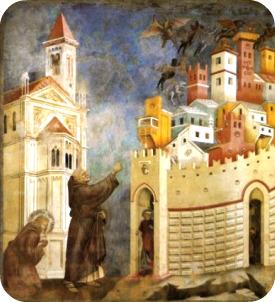 San Francesco - Esorcismo di Arezzo
